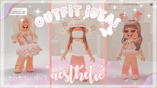 AESTHETIC Roblox Outfit Ideas *TikTok Compilation*