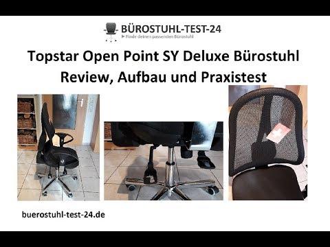 ► Topstar Open Point SY Deluxe Bürostuhl - Test, Aufbau und Review