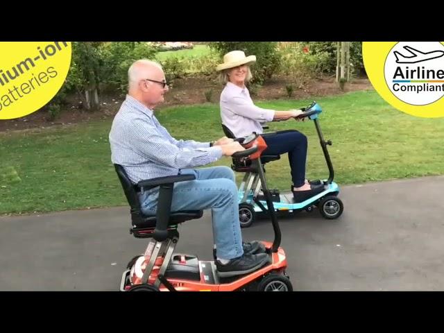 Rascal Smilie Manual Folding Scooter Short Range Video