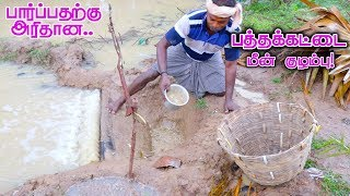 Pathakattai Fish Catching | Cooking | Fishing in Village using traditional fish catching technology