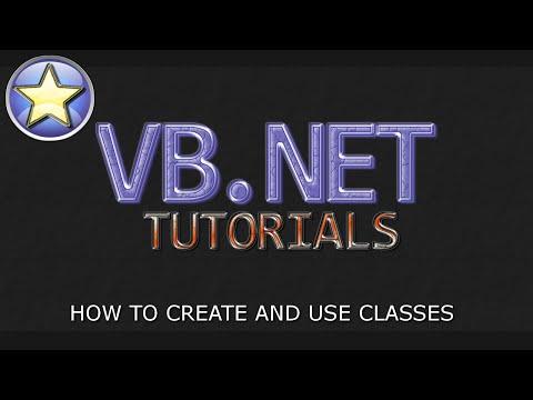 VB.NET Tutorial For Beginners – Creating Classes (Visual Basic Programming)