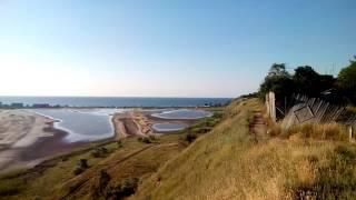 Отдых в Курортном. Панорамный вид. видео