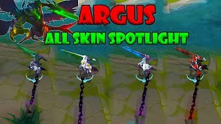 Mobile legends Argus All Skin Spotlight