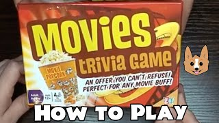 Movies Trivia Game - How to Play this Easy Card Game (The Fanily)