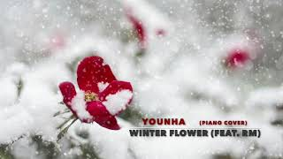 윤하 - Winter Flower (Feat.RM) - 피아노 커버