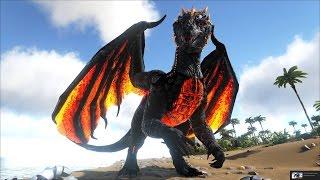 ARK: Crystal Isles #2 - Tìm thấy nơi sinh sống của Rồng lửa Dominus Dragon
