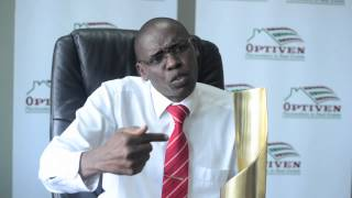 The face behind the success of real estate firm Optiven Ltd