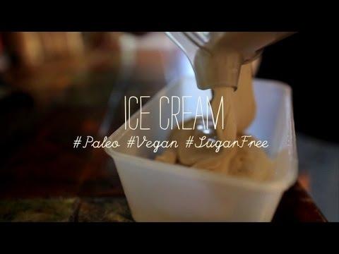 Video 'Dude Food' dessert: Paleo Vegan Ice Cream