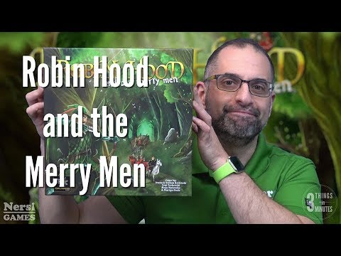 3 Things in 3 Minutes: Robin Hood and the Merry Men Review