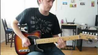 Flash In the Pan - Steve Lukather (Guitar Cover with Tab)