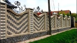 Beautiful Gate And Fence Design Ideas