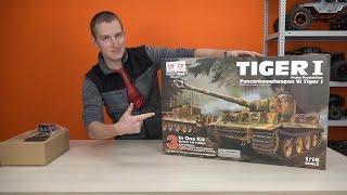 Собери сам танк своей мечты! ... Р/у танк Taigen German Tiger I KIT