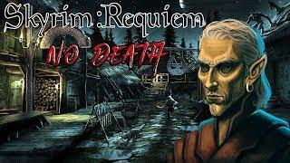 Skyrim - Requiem (без смертей, макс сложность) Альтмер-маг  #32 униКАЛьные штаны раптора