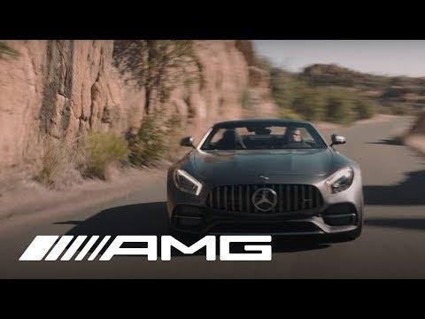 Mercedes Benz AMG GT Roadster Кабриолет класса A - рекламное видео 2