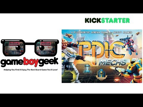 The Game Boy Geek Peviews Tiny Epic Mechs