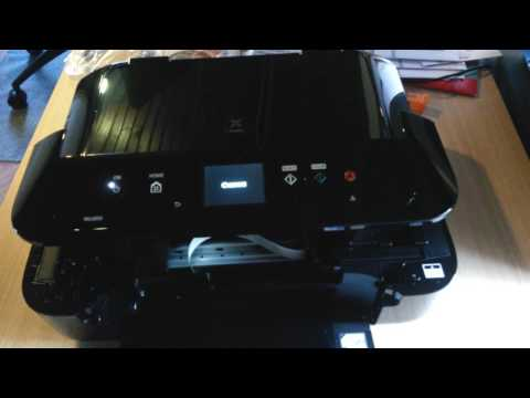 CANON Pixma MG6850 unbox and test