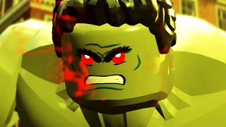HULK Vs Hulkbuster Boss Fight LEGO Marvel Avengers Age Of Ultron HD