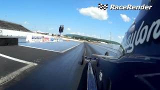 Kuhn Racing Junior Dragster side shot video.