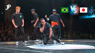 Team Brazil vs. Team Japan · World Street Dance 2013