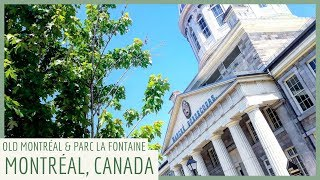 🇨🇦 SUMMER Versus WINTER IN MONTRÉAL, CANADA! | VIEUX-PORT & OLD MONTREAL (PART TWO)