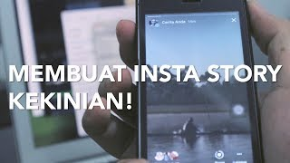 Membuat Ukuran Video yang Pas Instagram Stories