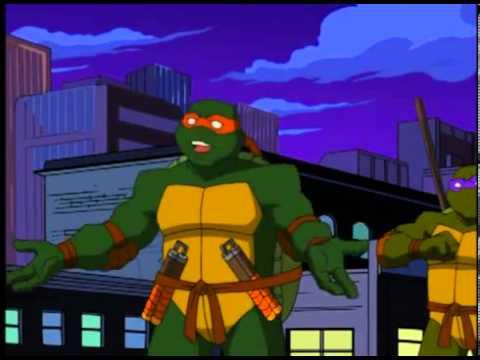 ninja teknősök parazita