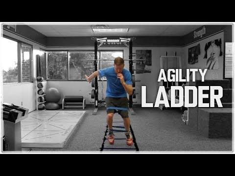 'AGILITY' LADDER w/ Mini Bands | Footwork, Quickness & Foot Speed Drills