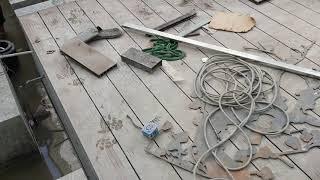 Thi công sàn gỗ nhựa tại LCT3 Vinhome thăng long