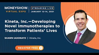 Kineta, Inc.-Developing Novel Immunotherapies to Transform Patients' Lives