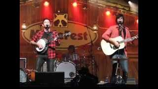 "Avett Brothers w/ Peter Rowan ""Till the End of the World Rolls Round"" Merlefest 2015"