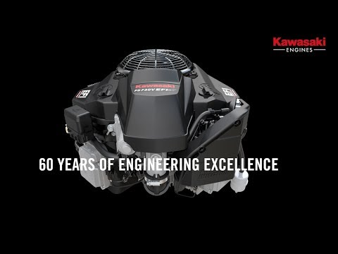 Take a ride through 60 years of Kawasaki engine development