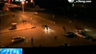 实拍美欧第三轮空袭 卡扎菲之子被曝身亡