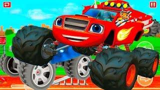 МАШИНЫ МОНСТРЫ #3Игровой мультик про машинки крутые  тачки для детей мульт гонки на машинах монстрах