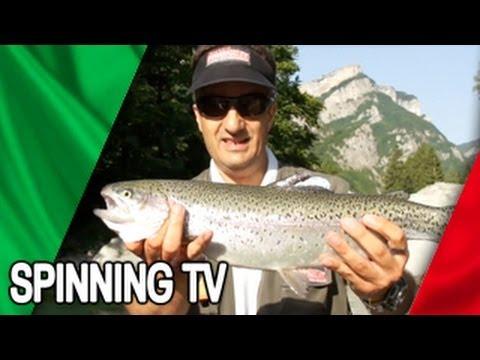 La pesca su una vista davanti un whitefish