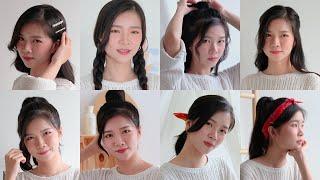 8 Korean Hairstyles Tutorial With Innisfree