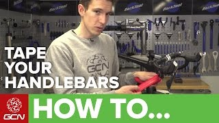 How To Tape Your Handlebars In The Figure Of 8 Style | Maintenance Monday