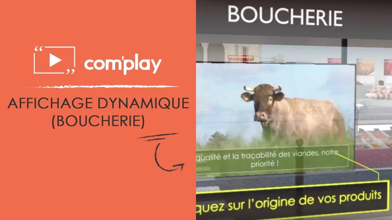 Image YouTube Communiquez dans votre boucherie grâce à l'affichage dynamique