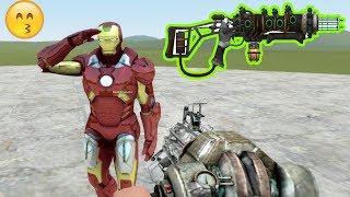 Cách Tiêu Diệt Iron Man Bằng Súng Thế Kỷ 100 | GMOD TẬP 16 | MinhMaMa