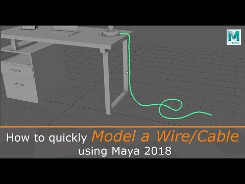 How to Create Leaves (Alpha Plant) in Maya 2017