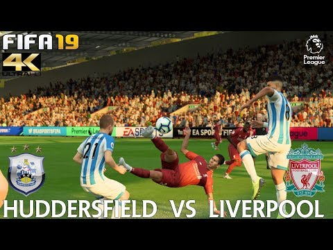 FIFA 19 (PC) Huddersfield vs Liverpool   PREMIER LEAGUE PREDICTION   20/10/2018  4K 60FPS