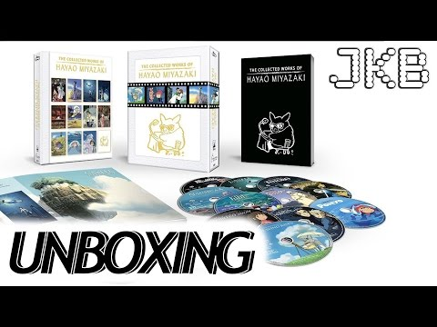The Collected Works of Hayao Miyazaki Bluray Unboxing | JKB