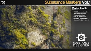 Substance Masters - MossyRock time-lapse