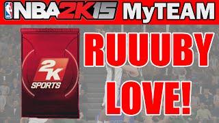 RUUUBBY LOVE!! - NBA 2K15 MyTeam Pack Opening: Dimer Packs Opening