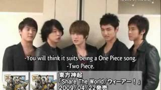 {GOESS}090422 Oricon Style  THSK Share The World English Subbed