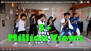 Baby Ko Bass Pasand Hai Song | Sultan | Salman Khan | Anushka Sharma | Badshah ,THE DANCE MAFIA