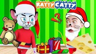 КОШКИ МЫШКИ НОВОГОДНЕЕ ОБНОВЛЕНИЕ ratty catty САНТА ПРОТИВ КОТА на канале GAMES FACTORY