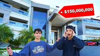 We Went to the MOST EXPENSIVE HOUSE in the WORLD! (Full Tour)