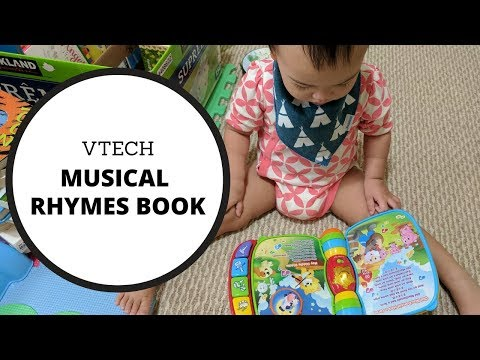 Toy Review: Vtech Musical Rhymes Book