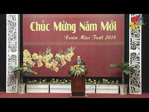 Chủ tịch UBND tỉnh Vương Bình Thạnh chúc mừng năm mới xuân Mậu Tuất 2018