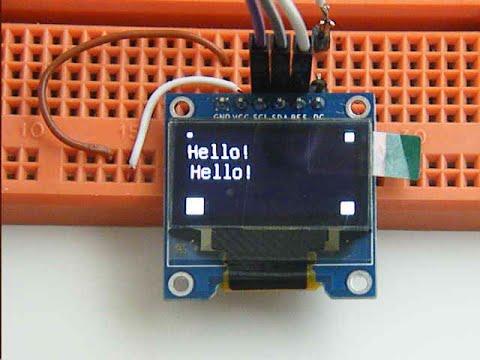 Display oled Arduino U8G - смотреть онлайн на Hah Life